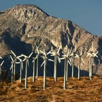 Wind Farm; San Jacinto Mt.